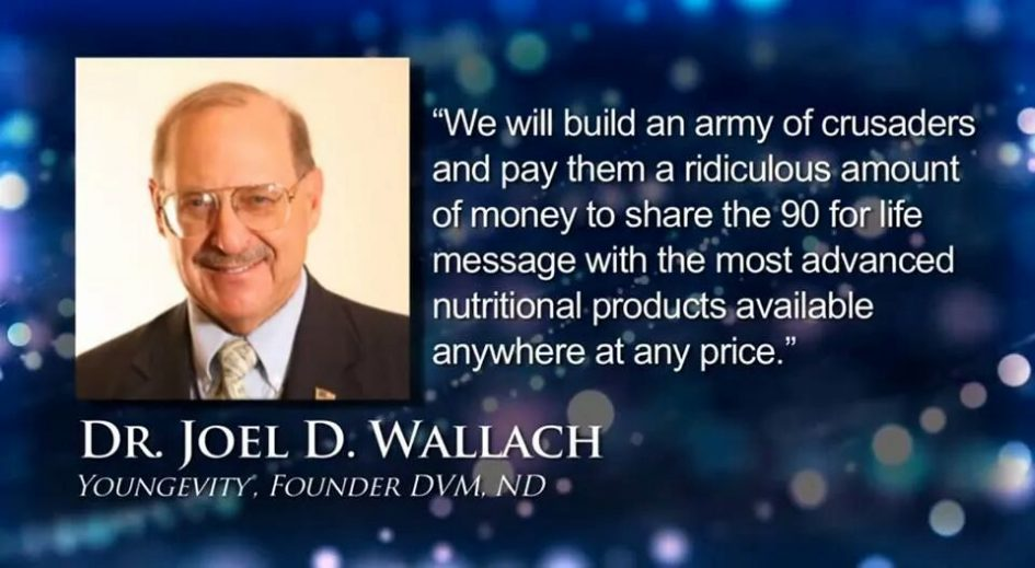 Dr. Joel Wallach is simply a man with a mission.
